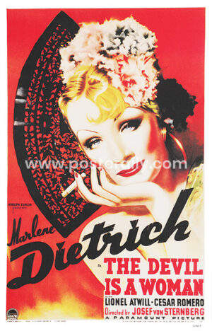 The Devil Is a Woman   Buy Hollywood Posters online   Marlene Dietrich Posters   Josef von Sternberg   Old Movies  Vintage Movie Posters for sale online
