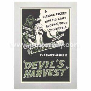 Devil's Harvest   Buy Hollywood Posters online   Marijuana Posters   Vintage movie posters for sale   Old Movie Posters