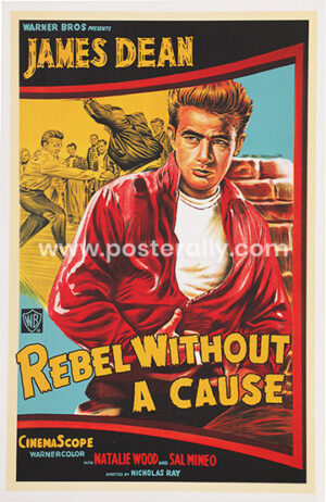James Dean Rebel Without A Cause   Buy Hollywood Posters   James Dean Posters   Nicholas Ray