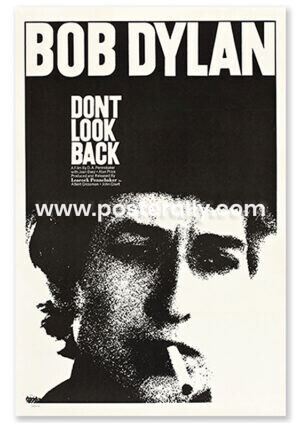 Bob Dylan Don't Look Back   Buy Hollywood Posters online  Bob Dylan Poster   Vintage movie posters for sale   Old Movie Posters