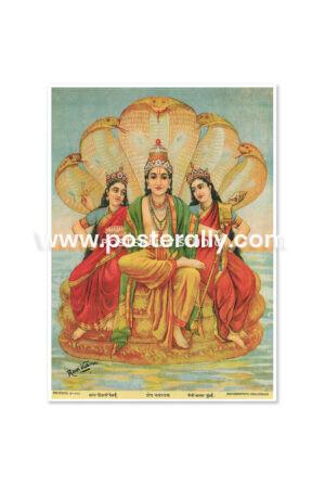Buy Raja Ravi Varma Prints online. Shesh Narayan by Raja Ravi Varma. Shop Bollywood posters, vintage prints and rare books online. Shipping globally.