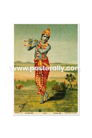 Buy Raja Ravi Varma Prints online. Shri Krishna by Raja Ravi Varma. Shop Bollywood posters, vintage prints and rare books online. Shipping globally