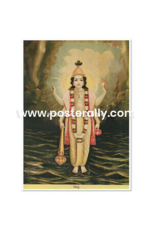 Buy Raja Ravi Varma Prints online. Vishnu by Raja Ravi Varma. Shop Bollywood posters, vintage prints and rare books online. Shipping globally.