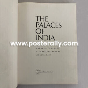 Buy The Palaces of India by Fatesinhrao Gaekwad, Maharaja of Baroda. Buy Rare & Antiquarian Books. Collectible Vintage Books, Rare coffee table books online