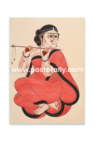 Shop Kalighat Paintings online. Indian Folk Art Paintings from West Bengal for sale. Biggest collection of rare and vintage prints, posters, books online.